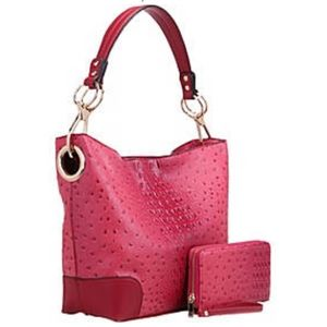 MKF Collection Dane Hobo Bag & Wallet/Wristlet Set